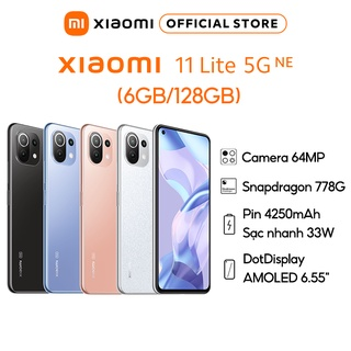 Điện thoại Xiaomi 11 Lite 5G NE (6+128gb 8+128gb) Chip Snapdragon TM 778G Hàng chính hãng thumbnail