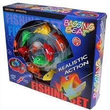 Đồ chơi câu cá giải trí cho bé có nhạc
