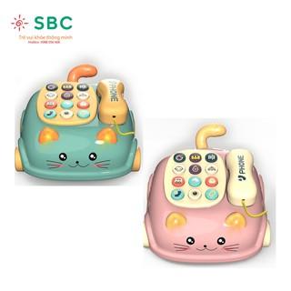 Có hộp tặng kèm pin- Đồ chơi điện thoại dễ thương có âm thanh về môi trường xung quanh dành cho bé thumbnail