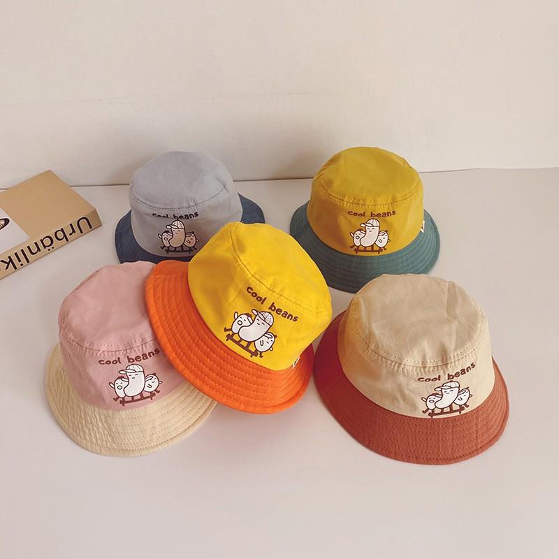 Mũ nón trẻ em vành tròn cho bé gái 3-4 tuổi (MUTE12)