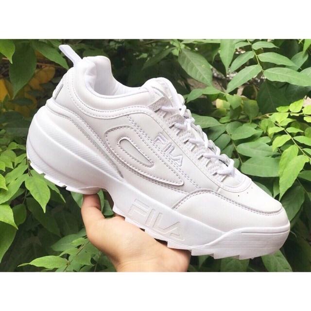[HOT-SALE SỐC] Giày FILA full white cực hot size 36->40