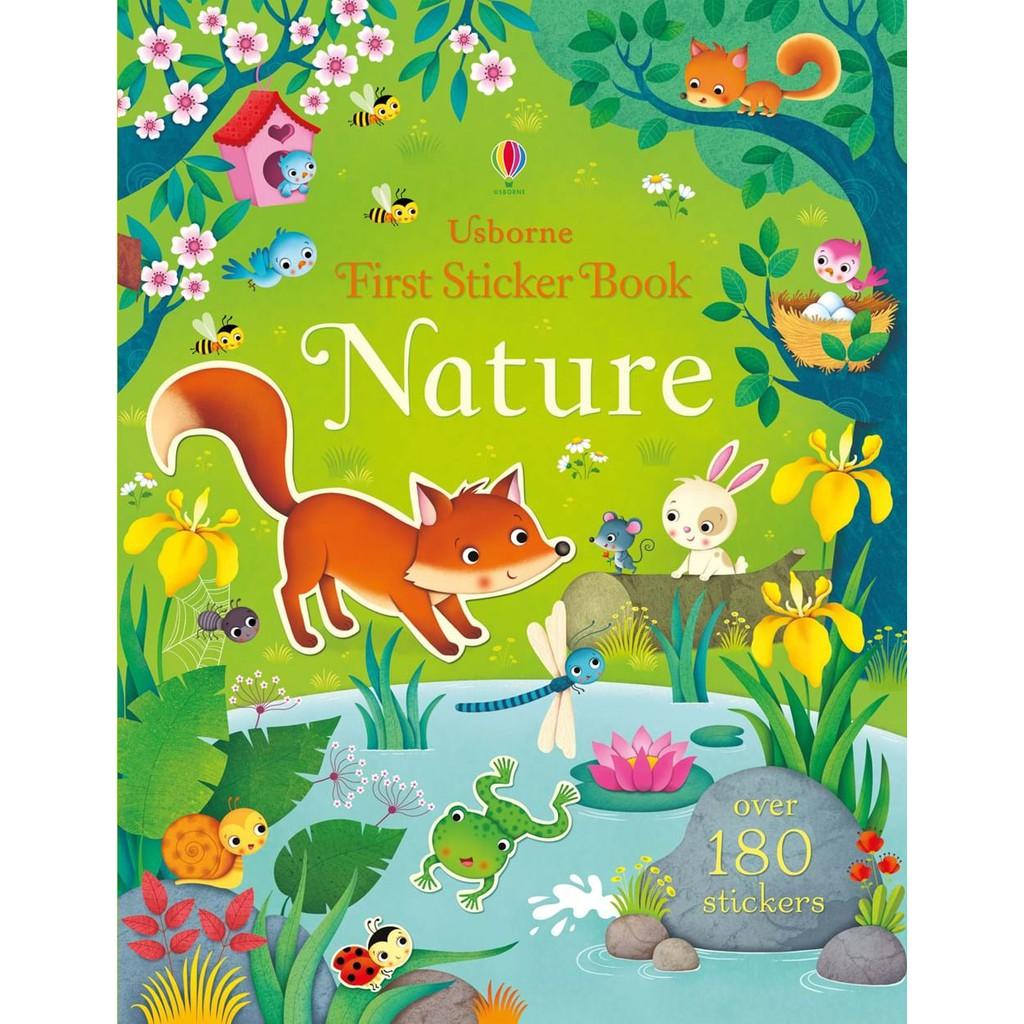 Sách dán sticker Usborne nhiều chủ đề cho bé học tiếng anh hiệu quả
