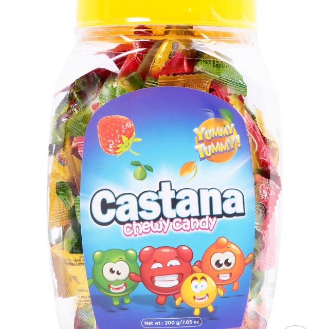 Kẹo Castana Trái Cây Top Cake 200g