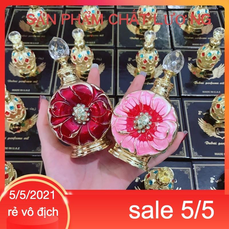 [Giá sỉ bán lẻ] Tinh dầu nước hoa Dubai Hoa Hồng, Đỏ Chính Hãng