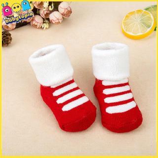 Winter Warm Newborn Baby Socks Over Knee High Cartoon Animals Stockings