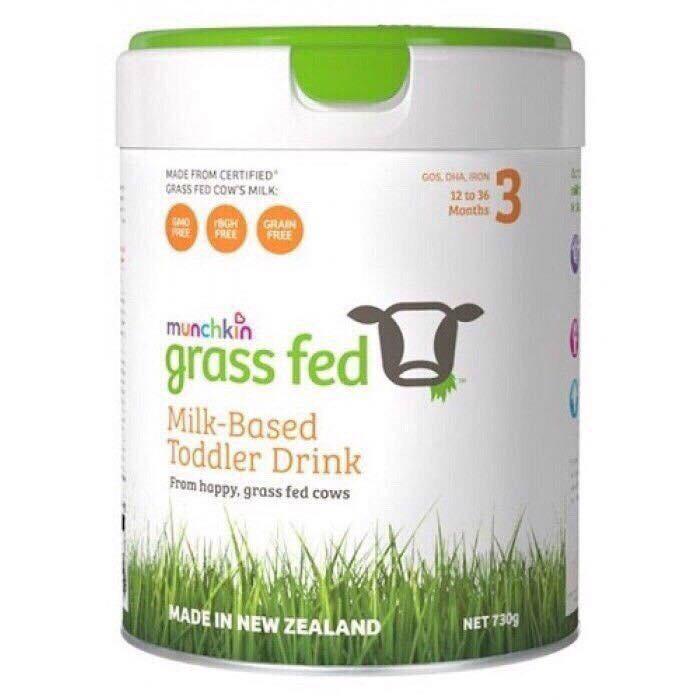 Sữa Munchkin Grassfed Số 3 lon 730gr