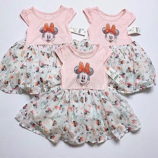 Váy hồng Minnie chân voan - RABBITSHOP·