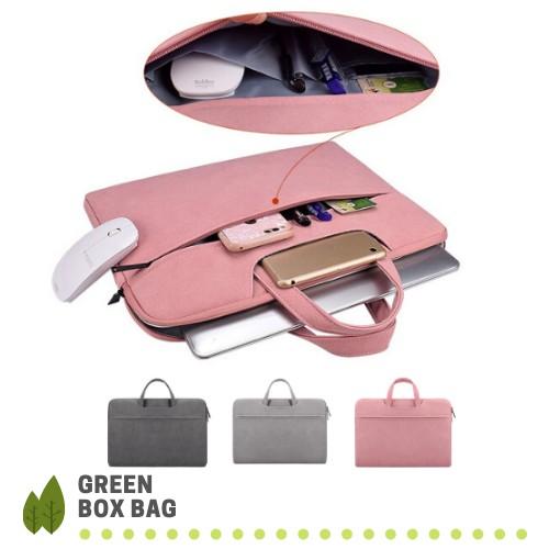 Túi chống sốc Laptop Macbook cao cấp 13,3 14 15,6 inch GRST06 II Bảo Hành 1 Năm II Bao Da Đựng Máy Tính Nam Nữ II 2020