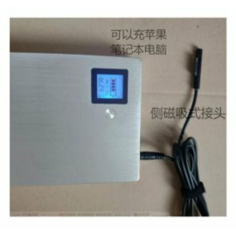 Sạc dự phòng laptop 40.000mAh lắp 12 cell pin 18605 Panasonic hỗ trợ sạc nhanhQC3.0(Mã7)