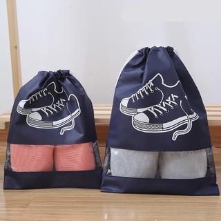 Túi Đựng Giày Dép Không Thấm Nước Du Lịch Có Dây Rút thumbnail