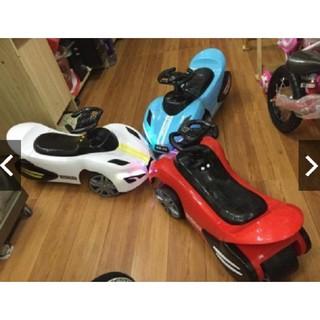 [Trợ giá] Xe lắc ô tô có nhạc 2 đèn - Xe bơi chòi chân cho bé hàng cao cấp thumbnail