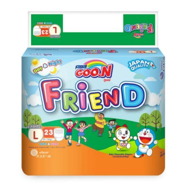 Tã quần Goon Friend +5 miếng M27/L23/XL20/XXL16