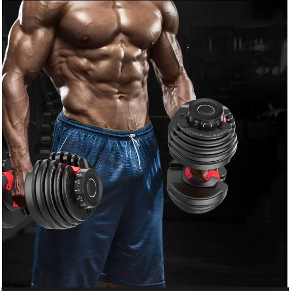 Combo Đôi 2 Tạ tay điều chỉnh Bowflex Cao Cấp 24kg(Tổng 48kg/đôi)