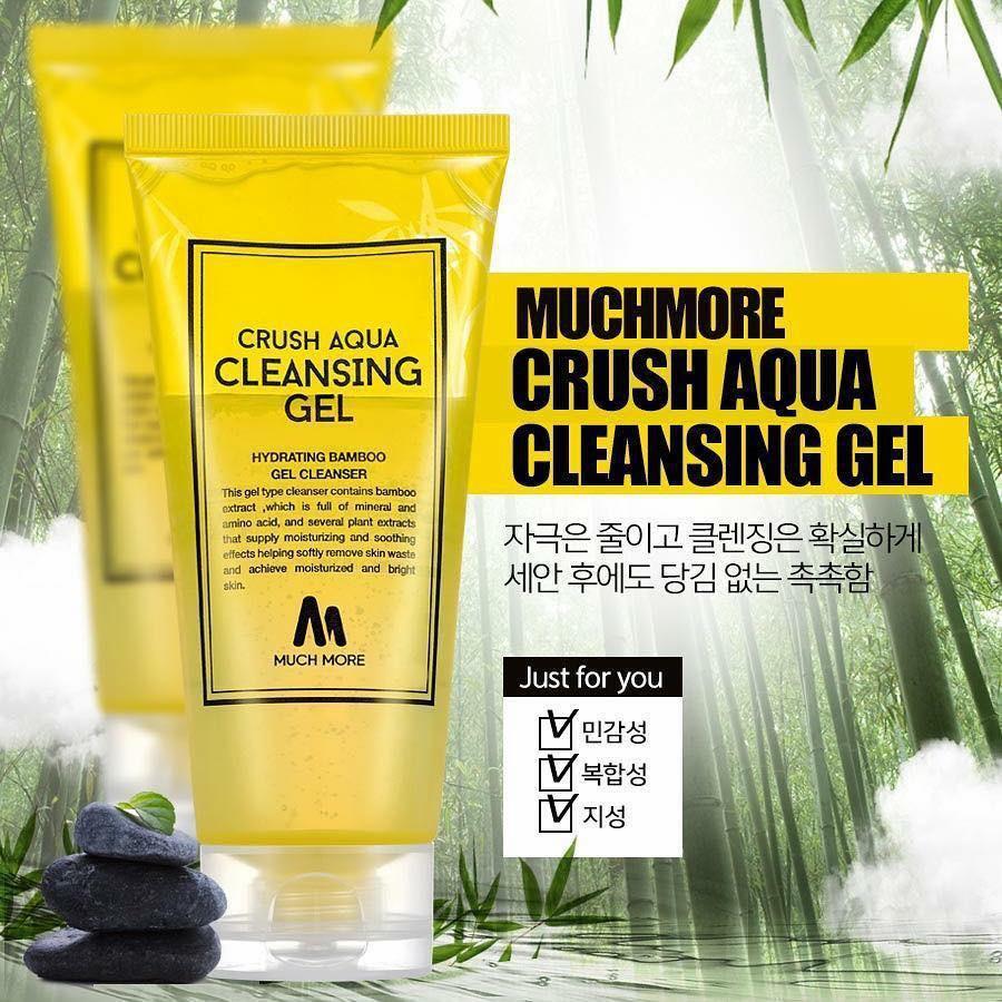 Sữa rửa mặt Muchmore Crush Aqua Cleansing Gel 120g