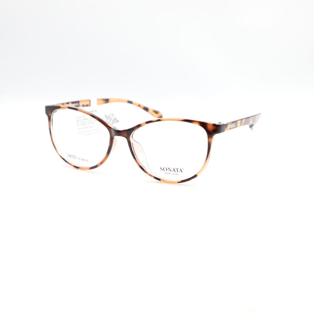 Gọng kính cận nữ Sonata kiểu dáng mắt mèo R565 nhiều màu
