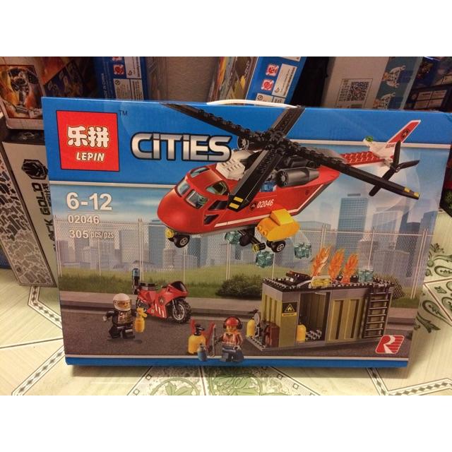 |Đồ Chơi Trẻ Em |Mẫu Xếp Hình Lepin Cities 02046(305 mảnh)