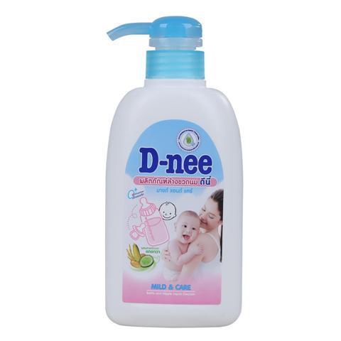 Nước rửa bình sữa Dnee túi 400ml/600ml - chai 500ml