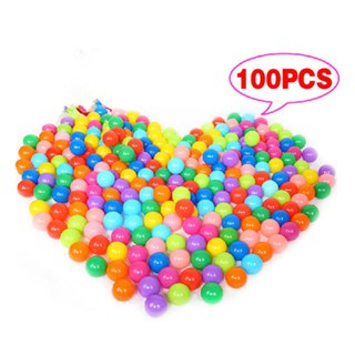 100PCS Multi-Color Kids Plastic Soft Play Balls Toy for Ball Pit Swim Pool Toys