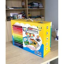 Combo Bút Thông Minh Mr. Bubino Và Bộ Sách Vui Học Tiếng Anh Cùng Mr. Bubino tặng kèm 100 thẻ giúp t