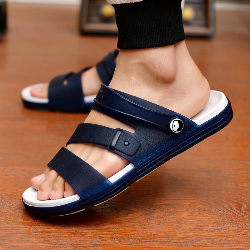 Giày sandal quai cài có quai hậu linh hoạt dành cho nam