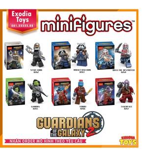 Bộ 6 minifigure siêu anh hùng Marvel : Guardian Of The Galaxy | DECOOL 0262-0267
