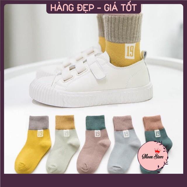 Set 10 đôi tất cổ cao số 19 cho bé yêu 0-8 tuổi (nhiều mẫu)