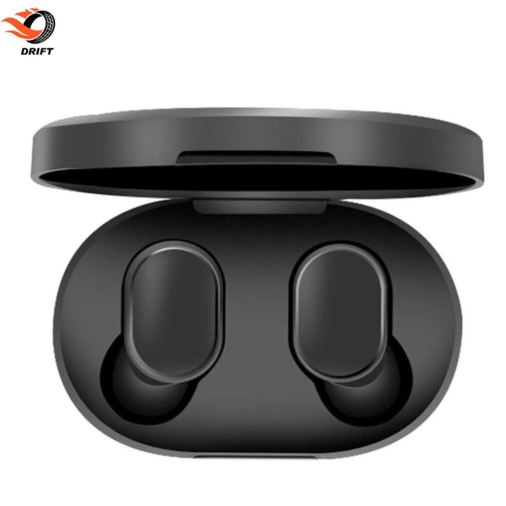 DR Xiaomi Stereo Hearset Invisible Earphones Bluetooth 5.0 with Charging Box TWS Bass Hands-Free Mini Giá chỉ 294.840₫