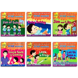 Sách - Tập Đọc Tiếng Anh Cho Trẻ Em - Star Readers (Song ngữ Việt - Anh) (Lẻ tùy chọn)