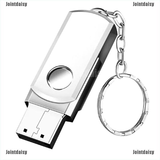 Jointdaisy Stainless Steel USB 2.0Pen Drive 2gb Flash Drive Stick Flash Drive With Keychain CCC