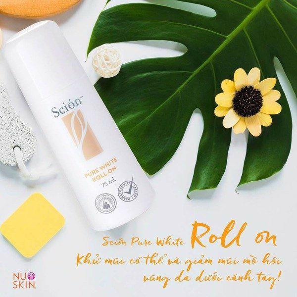 Lăn Khử Mùi NuSkin Scion Pure White Roll