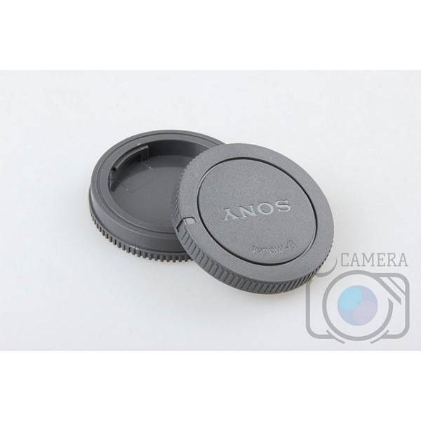 Bộ nắp đậy đuôi lens + nắp đây body máy ảnh Sony E-mount
