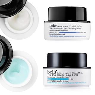 Kem dưỡng Belif The True Cream Aqua Bomb và Moisturizing Bomb minisize 10ml thumbnail