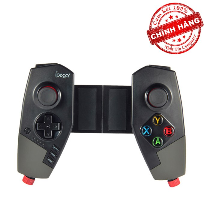 Tay cầm chơi game bluetooth IPEGA PG-9055 RED SPIDER hỗ trợ PC/ANDROID/IOS (Đen)