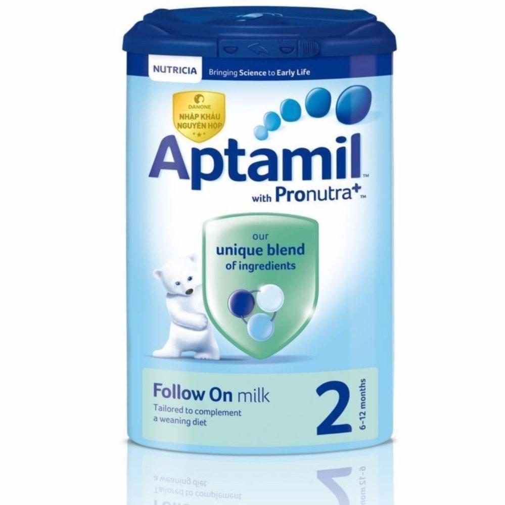 Sữa Aptamil Anh số 2 900g (Hàng công ty)