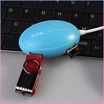 [SALE SIÊU SỐC] Hub chia USB 4 cổng SSK SHU 017 Giá chỉ 85.000₫