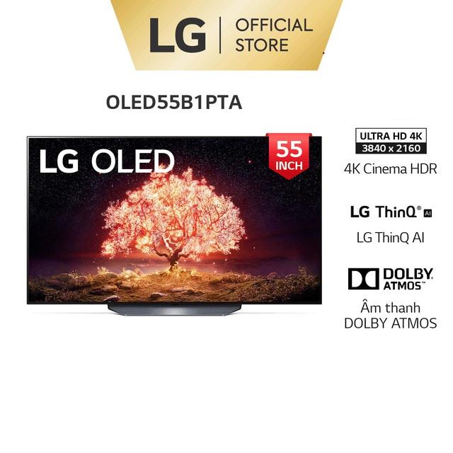 Smart OLED TV LG 55 inch 4K OLED55B1PTA – Model 2021 – Miễn phí lắp đặt