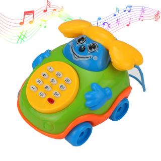 Cartoon Phone Music and Sound Toys For Baby