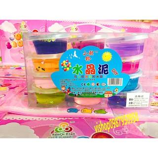 đồ chơi slime hoa quả hộp to – slime mềm dẻo mã FXH84 Jgiảm nhẹ
