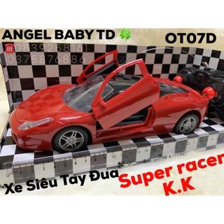 Xe Siêu Tay Đua SUPER RACER điều khiển