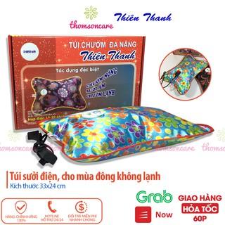 Túi sưởi cắm điện Thiên Thanh, đa năng size to KT 35x24 cm, chườm ấm chân tay mùa đông, giữ nhiệt, giảm đau bụng kinh thumbnail
