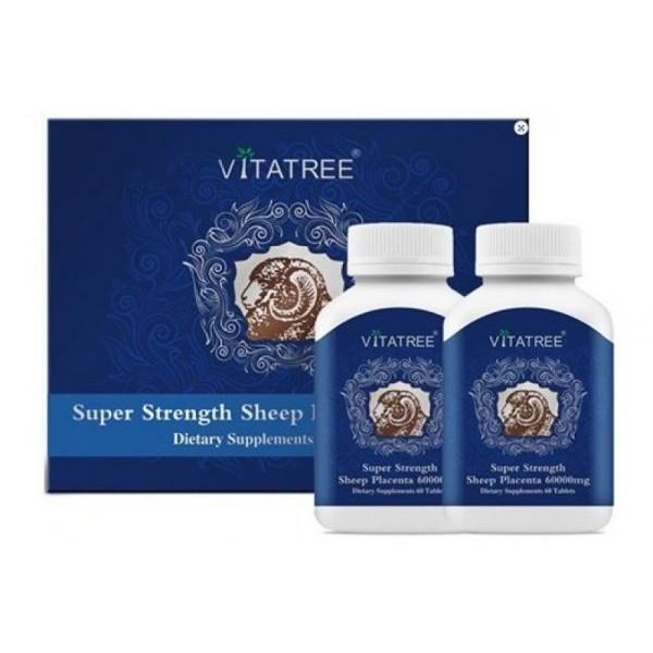Viên uống Nhau thai cừu Vitatree 60000mg - 120 viên - 2908628 , 814283505 , 322_814283505 , 880000 , Vien-uong-Nhau-thai-cuu-Vitatree-60000mg-120-vien-322_814283505 , shopee.vn , Viên uống Nhau thai cừu Vitatree 60000mg - 120 viên
