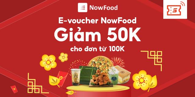 Hình ảnh [E-Voucher] - [Đơn từ 50K] Đặt món NowFood Giảm 100K - Áp dụng Quán Đối Tác, thanh toán AirPay-0