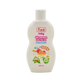 Dầu Massage Fuca Baby - Chiết xuất từ hạt Macca (200ml) thumbnail