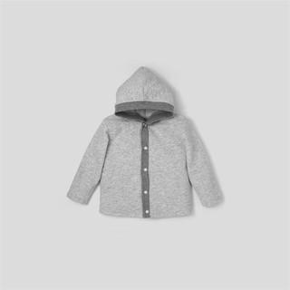 Áo khoác sơ sinh BAA BABY màu xám đốm cho bé trai - BN-AK01D-002XA thumbnail