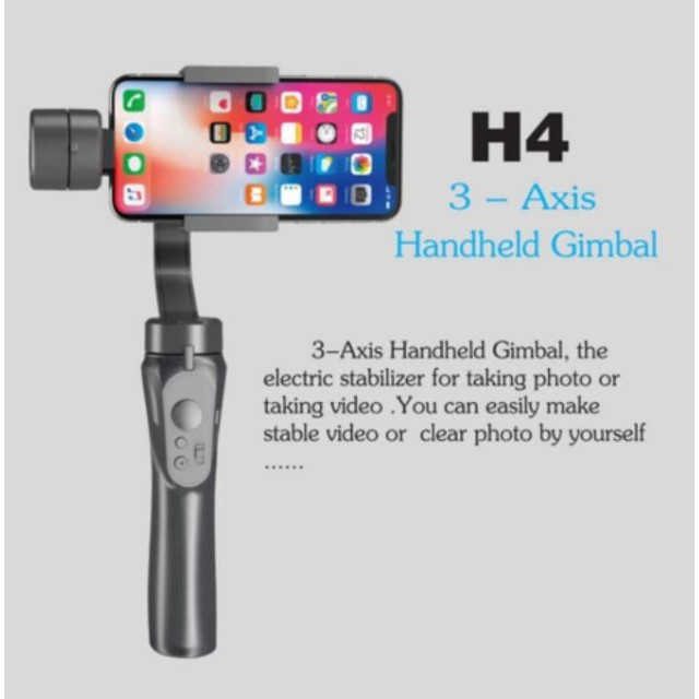 Bakeey H4 3-Axis มือถือ Gimbal Smartphone Stabilizer