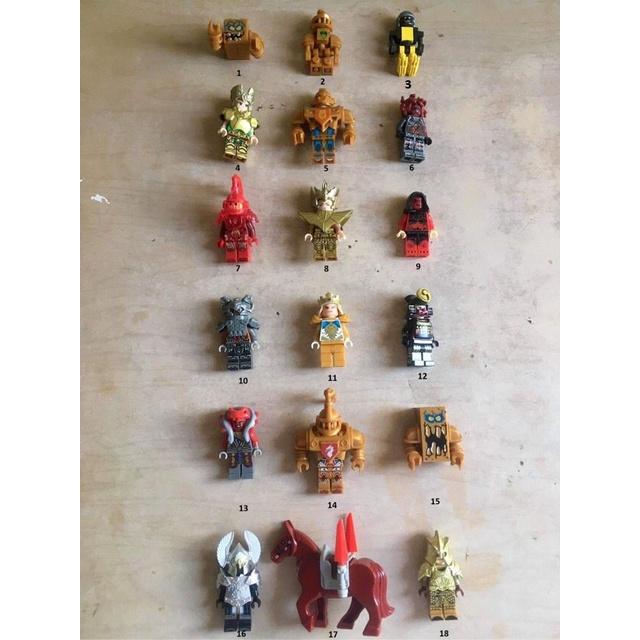 Non Lego-Minifigure Nhân Vật kỵ sĩ 2nd (Secondhand)