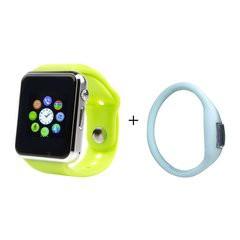 Đồng hồ Thông minh Smart Watch A1 Version cải tiến (XANH LÁ) tặng đồng hồ led
