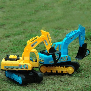Children's Beach Large Inertia Engineering Vehicle Simulation Excavator Toy