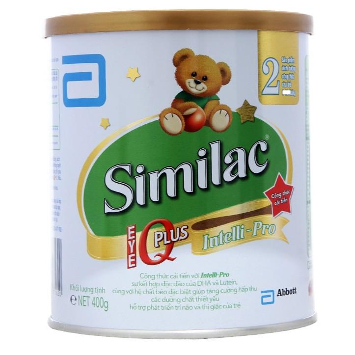 Sữa bột Similac 2 IQ Plus 400g date 2/2020 - 2851932 , 270901987 , 322_270901987 , 233000 , Sua-bot-Similac-2-IQ-Plus-400g-date-2-2020-322_270901987 , shopee.vn , Sữa bột Similac 2 IQ Plus 400g date 2/2020