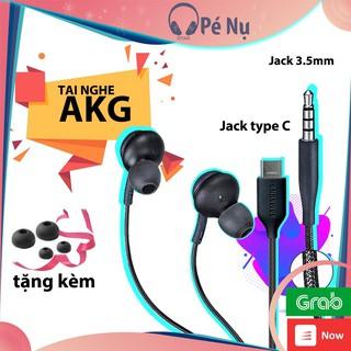 Tai Nghe Có Dây Samsung AKG S10/Note10/S20/Note Jack 3.5mm và Jack type C – Pé Nụ